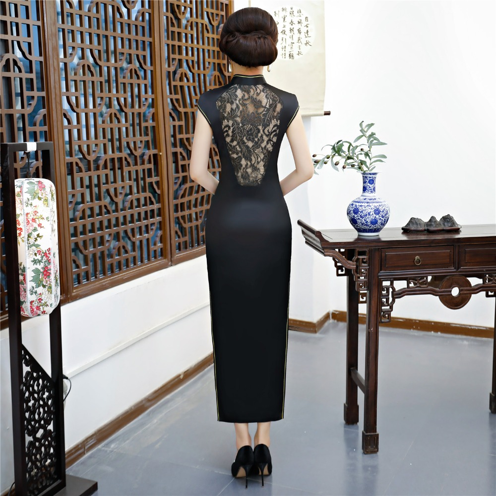 Image 2 - Shanghai Story Chinese qipao Sexy Cheongsam dresses Long Evening  Dress retro dress for womencheongsam dresscheongsam dress longchinese  qipao