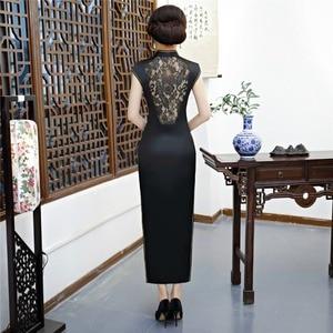 Image 2 - Shanghai Story Chinese qipao Sexy Cheongsam dresses Long Evening Dress retro dress for women