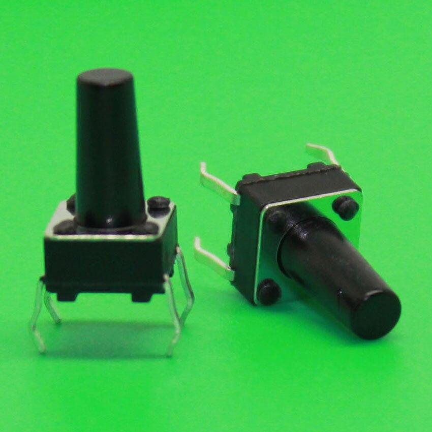 El nuevo en Línea 6 6 11mm tacto interruptor 6x6x11 altura 11 MM cocina  botón interruptor DIP 4 pies e6ea59f2ea7