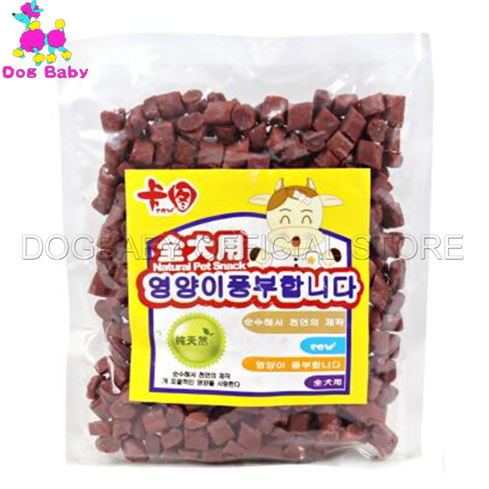 Dogbaby Chew Dog Food Feeders Fresh Beef Material Dogs Snacks Health Foods For Small Large Dogs Dlicious Beef Snack 200g Feeder #3