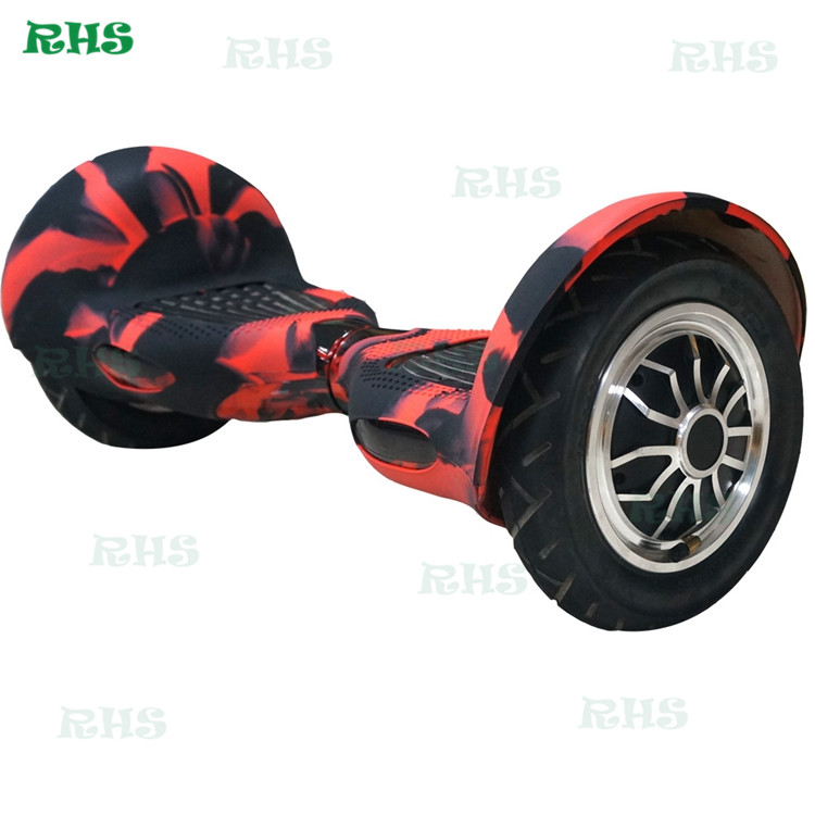 10inch hover board 2 wheels protective silicone case/cover/sleeve bluetooth balance scooter wrap in stock 5 Sets