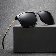 MARC Aviation Metail Frame Quality Oversized Spring TR Leg Alloy Men Sunglasses Polarized Brand Design Male Sun Glasses Driving