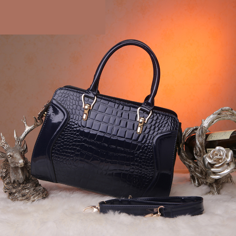8ae547c30a49 China Online Shopping Unique Designer Bag Fresh Leather Women Handbags Free  Shipping(Color  black