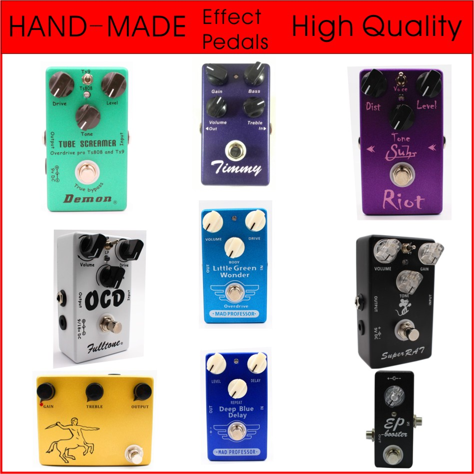 High Quality Clone Mad Professor Deep Blue Delay And Little Green Wonder Overdrive Guitar Effect Pedal And Booster цена 2017