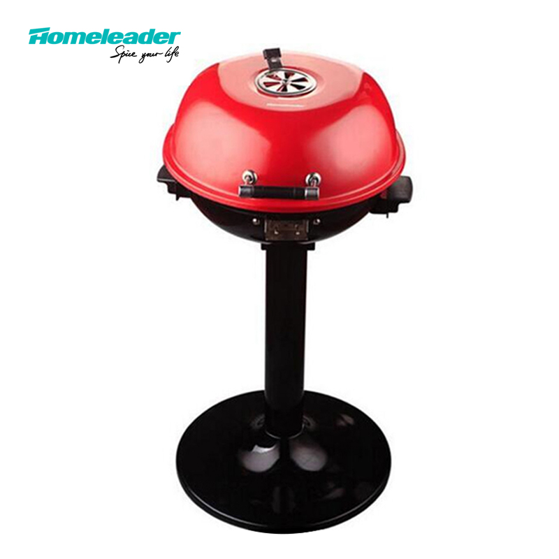 Homeleader Table Electric grill/Stand electric bbq grill  outdoor, GR-103S 3 river country rc t34cc adjustable bbq grill smoker thermometer 50 to 550f