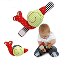 Snails Baby Wrist Watchs Baby Toys Infant Learning & Education Toy Baby Rattle Hand Rattles Finders Toys(2pcs/ pair) WJ178