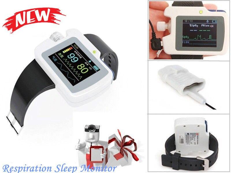 CONTEC Respiration Sleep Monitor,SPO2,Pulse rate,PR Analysis,Wrist Equipment,CE edvotek lab 6 cellular respiration