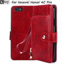 For Huawei Honor 4C Pro Case 5.0 inch Luxury Wallet Stand Flip Leather Case For Huawei Honor 4C Phone Cover with Card slots