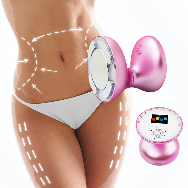 Rechargeable EMS RF Machine Cavitation Ultrasonic Radio Frequency Body Slimming Massager Fat Burner Anti Cellulite Lipo