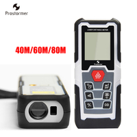 Prostormer Digital Laser Distance Meter Laser Rangefinders Optical Laser Meter Instrument For Home Decoration 40 60