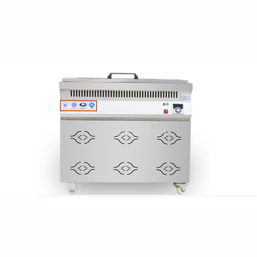 50L Large Capacity Chicken French Fries GasElectric Deep Fryer Stainless Steel High Quality Commercial Deep Fryer With Wheel