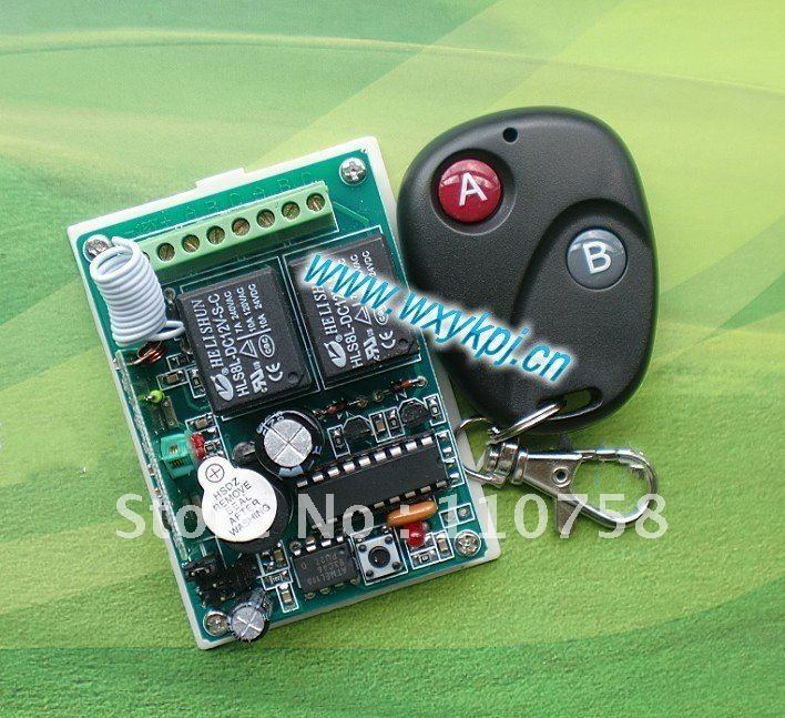 NEW ! Free shipping 12V 2CH wireless remote control system for garage door / home applicances free shipping new factory original remote control rc003pm for marantz cd av amplifier