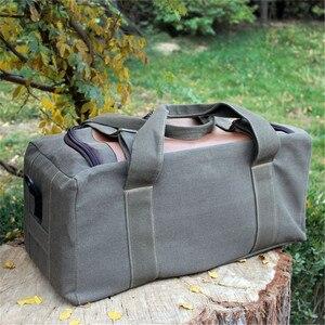 Image 4 - Men Travel Bags Large Capacity Women Luggage Travel Duffle Bags Canvas Big Travel Handbag Folding Trip Bag Waterproof