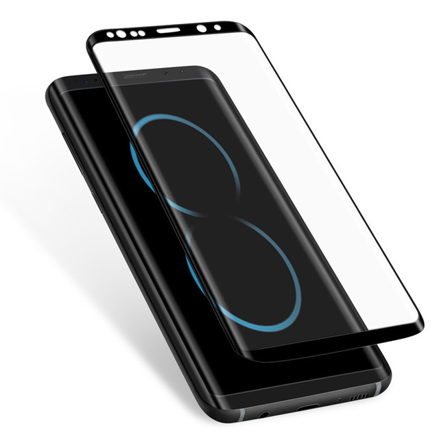Tempered Glass Film For Samsung Galaxy Note 8 9 S9 S8 Plus S7 Edge 9D Full Curved Screen Protector For Samsung Galaxy S7 8 9