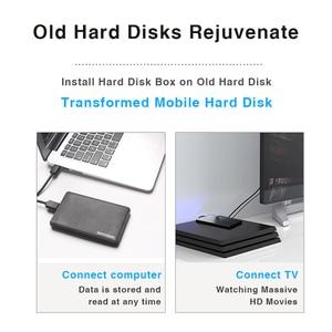 "Image 3 - Hard Drive Enclosure, Portatile Box HDD SATA a USB 3.0 Adattatore per 2.5 ""External SSD HDD Caso"