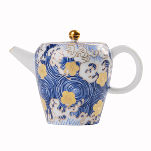 """Image 5 - PINNY théière en porcelaine, """"nuit étoilée"""", théière Kung Fu chinois en porcelaine de 150ml, Service à thé peint à la main de haute qualité"""