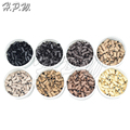 H.P.W. 3.0 mm copper flare micro rings Knobs links beads for prebonded human Hair Extensions Tools 8 colors Available