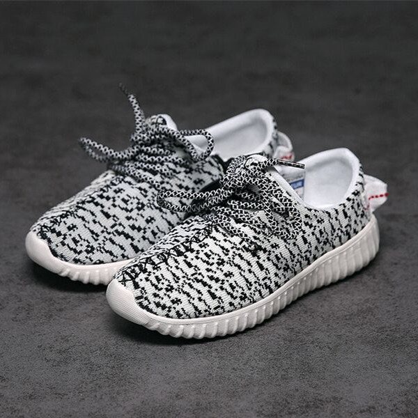 High quality! Children's Fashion Sneaker Breathable Boys Girls Mesh Shoes Kid's Grey Black Sneaker Toddler Soft Shoes for run infant toddler baby boys girls soft sole crib shoes sneaker prewalker 0 12months py1