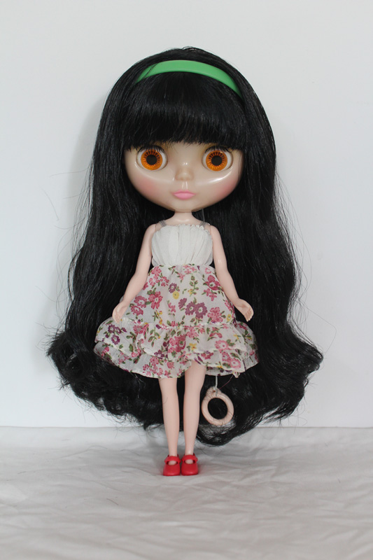 Free Shipping Top Discount Transparent Face Diy Nude Blyth Doll Item No Toys & Hobbies 185t Doll Limited Gift Special Price Cheap Offer Toy High Quality Goods