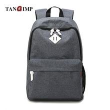 Рюкзакмедицинский tangimp повседневный школьный подростков ноутбуков рюкзаки серый холст твердые девочек