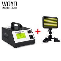 Индукционный нагреватель для удаления вмятин листового металла инструменты hotbox pdr листового металла тормоза WOYO PDR007 и свет НДР проверить св