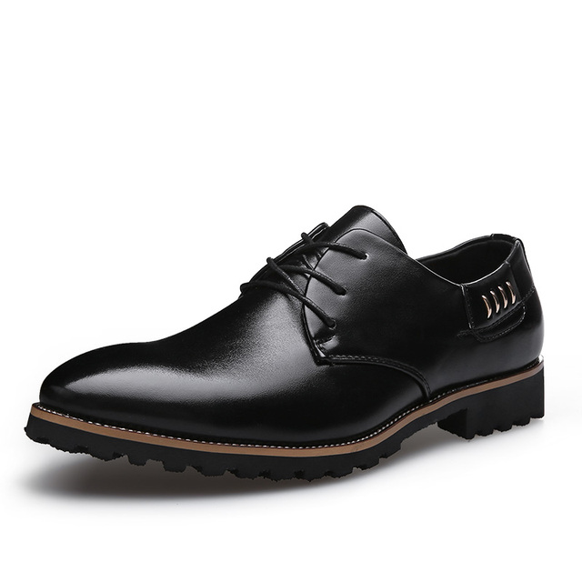 353f743f8fc7 Four seasons Men Shoes Dress joker Shoes Men Top Formal Banquet Leather  Shoes Danc Male Flat Sneaker shoe