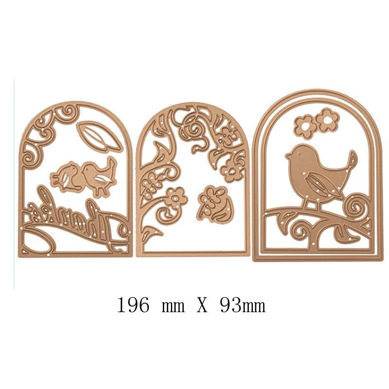 Little Bird Metal Cutting Dies Stencils for Scrapbooking Embossing Die Paper Cards Making Album Decorative New 2019 in Cutting Dies from Home Garden