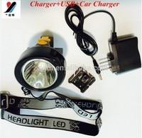 2017 5W T6 10000Lumen 3000Mah Led Rechargeable Headlamp Waterproof Ultra Bright Fishing Light Moving Head Lights Lamp KL2.5LM