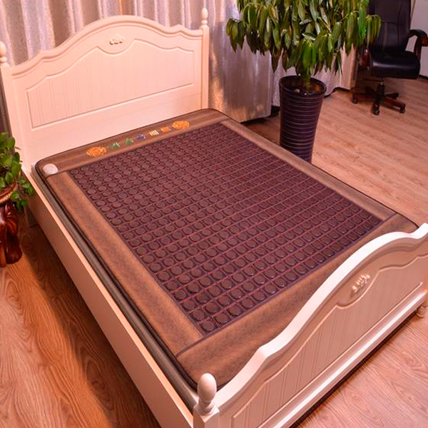New! Good Tourmaline Mat Beauty Mattress Jade Physical Therapy Health Care Pad Heat Sofa Cushion Free Shipping