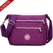 Waterproof Nylon Women Messenger Bag Shoulder Bags Ladies Bolsa Feminina Travel Crossbody Bag for Women 2019 Sac a Main Femme цена в Москве и Питере