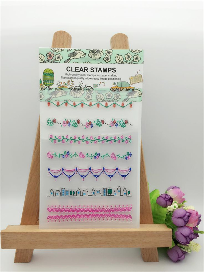 Scrapbook paper aliexpress - Cross Band Design Clear Transparent Stamp Diy Scrapbooking Paper Card Christmas Gift Wedding Gift Paper Card