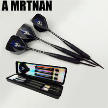 3 pieces / set of steel tip darts 21g shaft good flying point wing tungsten needle and movement