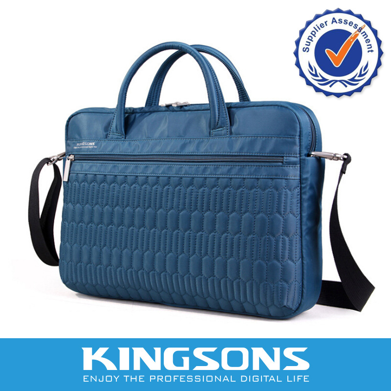 Kingsons New fashion casual Laptop bag 1315inch computer Bag Single shoulder bag handbag Business package free shipping