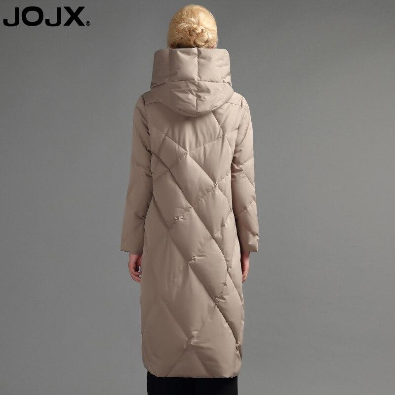 De Blanche Chaud D'oie kaki Épais 90 Jojx Doudoune Manteau Vers À Qualité Lâche Le Bas Veste Haute Capuchon Noir Duvet Mode Longue Femmes Luxe 2017 Sn1qXYq