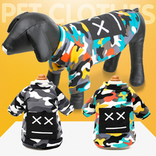 Pet Dog Camouflage Apparel Fashion clothes Pajamas Coat Clothing Puppy Clothes Jumpsuit Winter warm sweater coat for dog