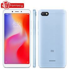 Global Version Xiaomi Redmi 6 3GB 32GB 5.45'' HD Full Screen 18:9 SmartPhone Helio P22 Octa Core AI Dual Camera 12MP+5MP CE FCC(China)