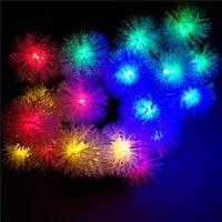 YIYANG 200 Kar Topu Kolye LED Solar Lamba Dize Işıklar 22 M Dekorasyon Yılbaşı Ağacı Partisi Açık Bahçe Veranda Için fener