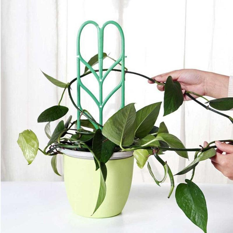 Garden Trellis Plastic Flower Rattan For Climbing Plants Potted Plant Support Rack Plant Support Vines Vegetables Garden Tools