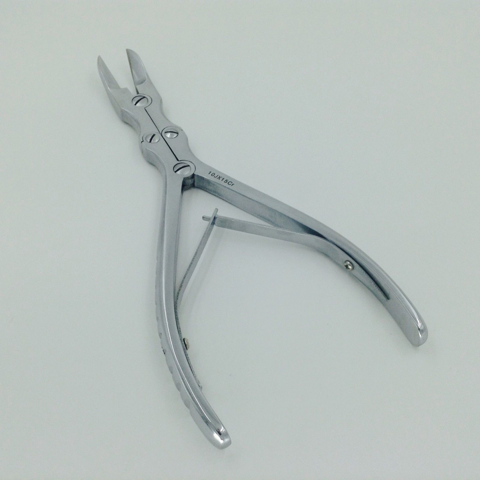 Nice Double Action Bone Cutter Scissor Curved Veterinary Orthopedic Instrument