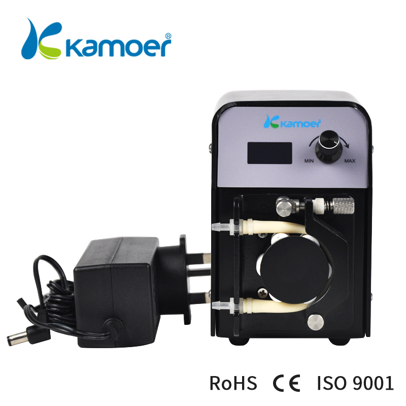 kamoer FX-STP portable mini peristaltic pump with adjustable flow rate ideal for calcium reactors Water Pump kamoer small peristaltic pump with low flow rate