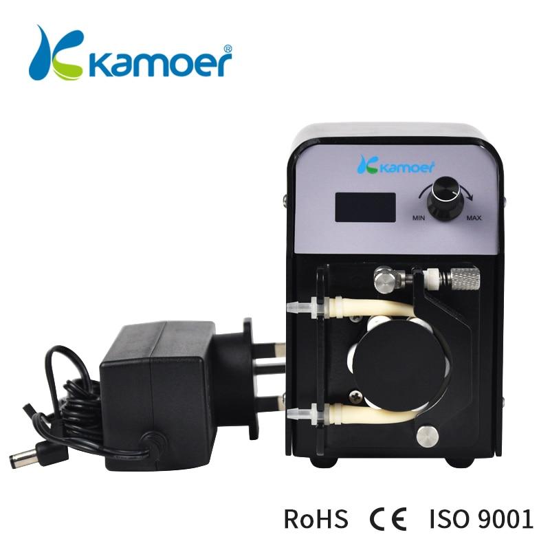 kamoer FX-STP portable mini peristaltic pump with adjustable flow rate ideal for calcium reactors Water Pump