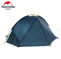 NatureHike Tent 4 seasons Outdoor Portable Double layer Camping Tents For 1 2 Person Lightweight Waterproof PU 4000mm Hiking