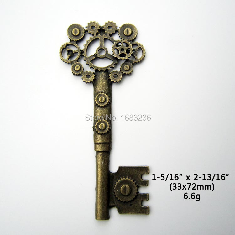 Popular Large Decorative Keys Buy Cheap Large Decorative - Antique Looking Home Decor