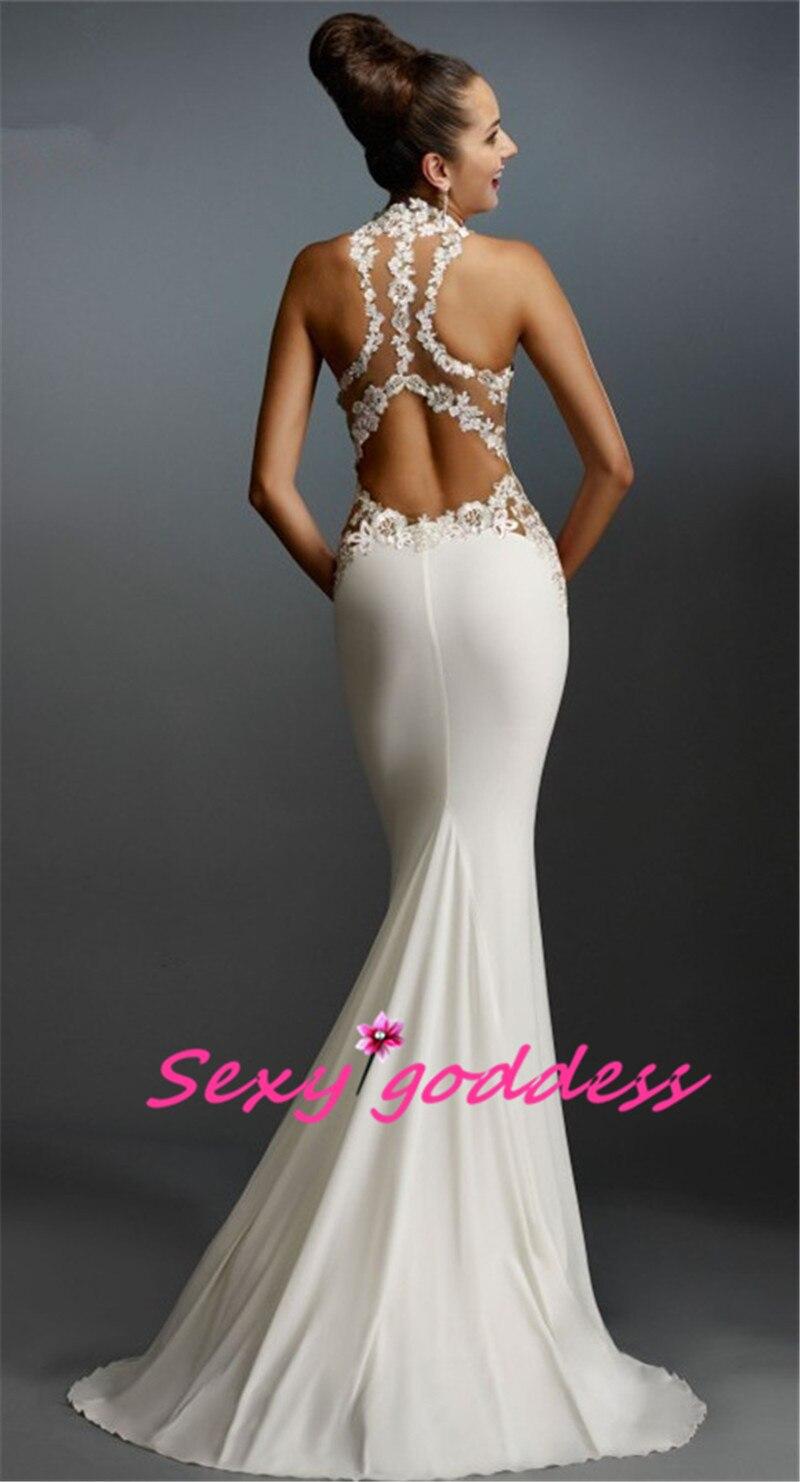 list detail lace halter mermaid wedding dress satin mermaid wedding dress Lace And Satin Strapless Neckline Fit and Flare Mermaid Wedding Dress