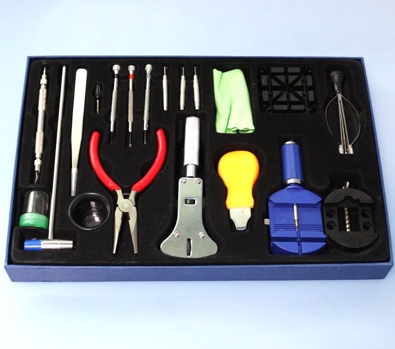 20pcs Watch Tools Tool Back Case Opener Kit Repair Pin Remover Watchmaker Professional Watch Repair Tool Kit Set Opener