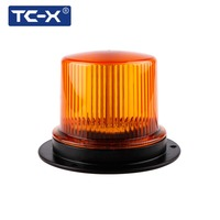 TC X Magnetic Police lights Beacons vehicles amber flashing Warning Strobe light auto Mounted rotating led car emergency lamp