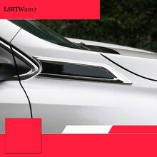 LSRTW2017 CAR body fender stickers for honda crv CR-V 2017 2018 5th generation