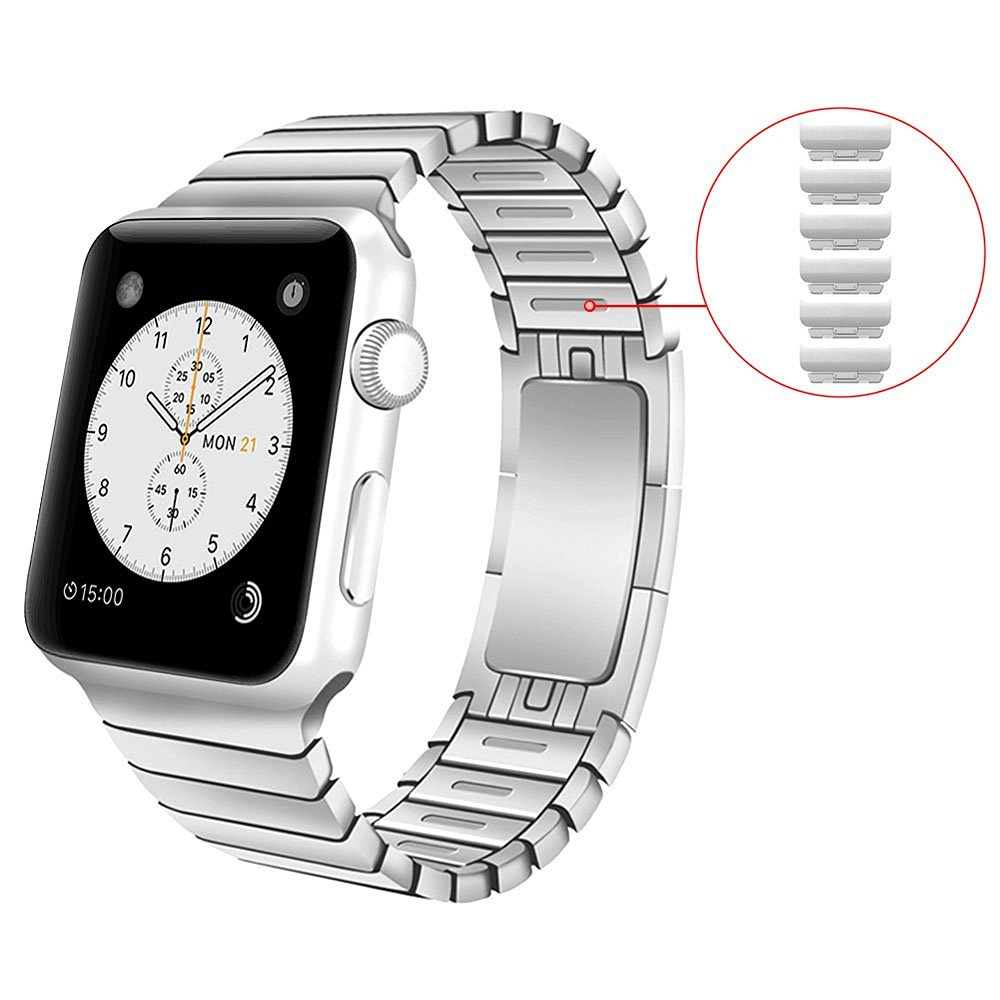 1:1 Original link bracelet band For Apple watch 42mm strap stainless steel watch