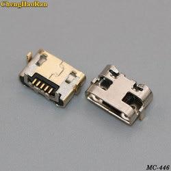 Chenghaoran 5-20 pces para huawei y5 ii CUN-L01 micro usb jack porto de carregamento conector do carregador tomada tomada de alimentação doca substituição