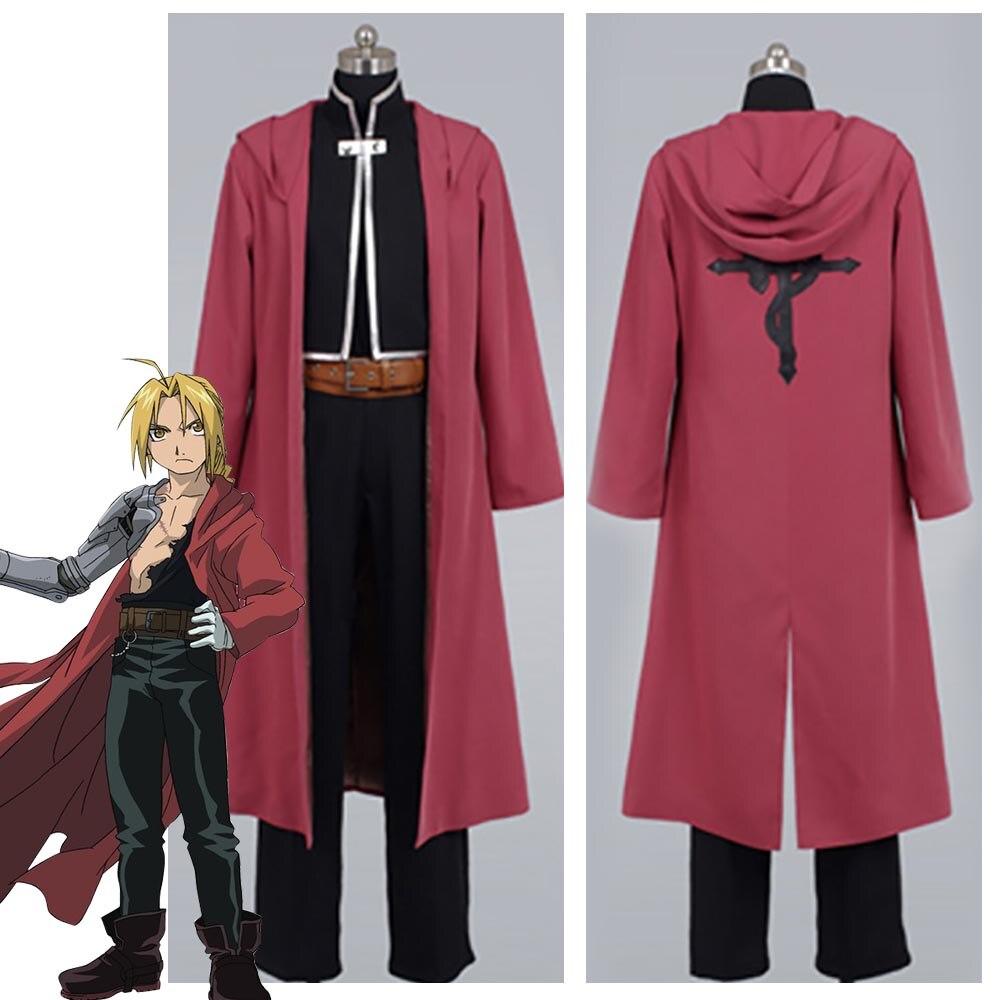 Fullmetal AlcFullMetal Alchemist Edward Elric Cosplay Costume see through angel shirt